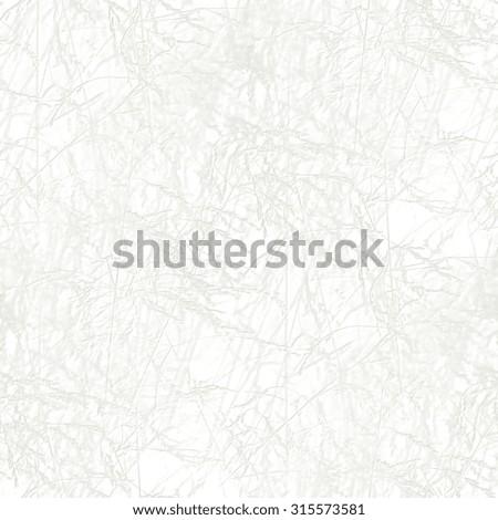 seamless gypsum tile with ornamental grass motif  - stock photo