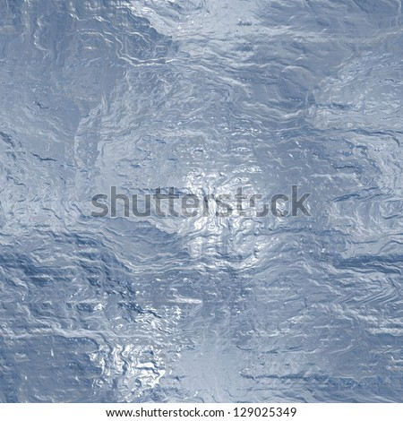 Seamless Hi-res (6000x6000) ice texture - stock photo