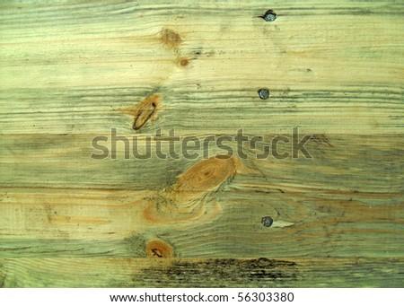 Seamless horizontal tiling wood fence texture - stock photo