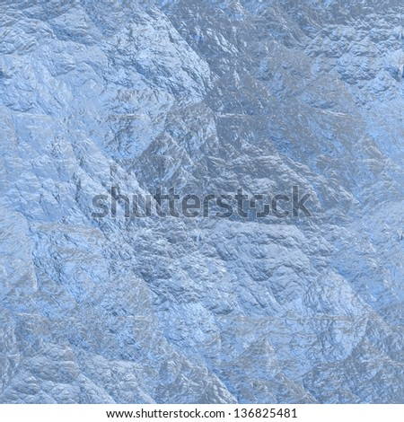 Seamless ice texture (computer graphic, big collection)