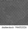 Seamless industrial pattern with texture of metal net - stock photo