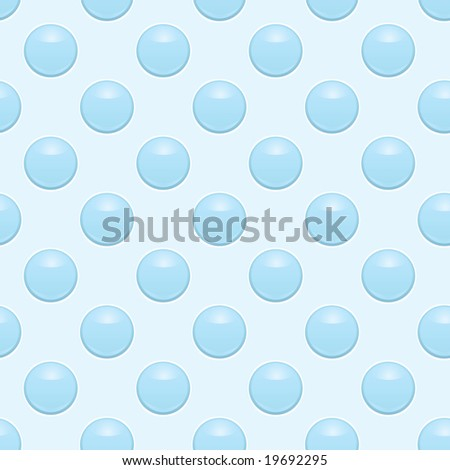 Seamless jpeg background of blue bubble wrap paper