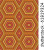 Seamless kashmir (cashmere), paisley or oriental rug geometric pattern ( for vector see image 61819321 )  - stock photo