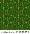 Seamless keys pattern illustration background, vector illustration - stock photo