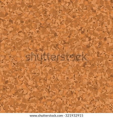 Seamless light brown background cork-wood closeup. Illustration suberic texture. - stock photo