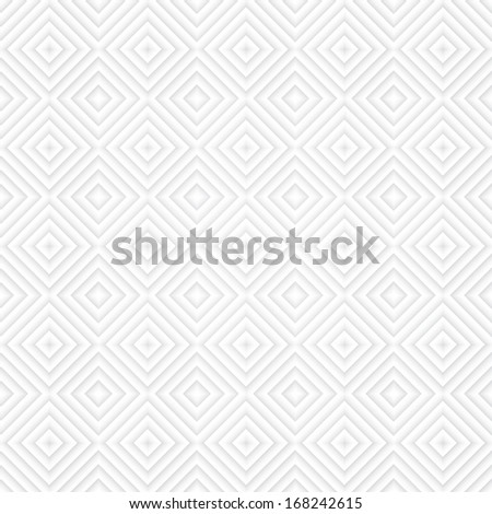 Seamless light paper triangle pattern - stock photo