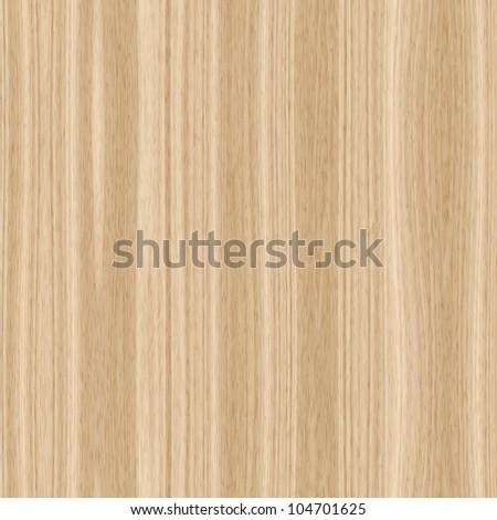Seamless light wood texture illustration - stock photo