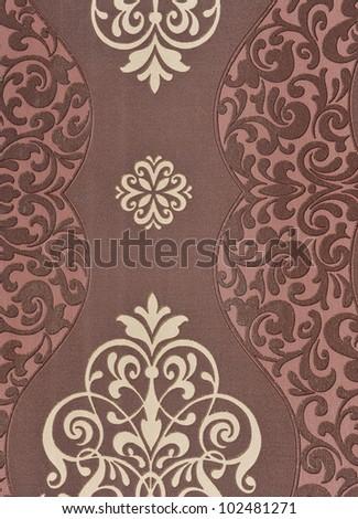 Seamless luxury floral vintage gothic wallpaper. - stock photo
