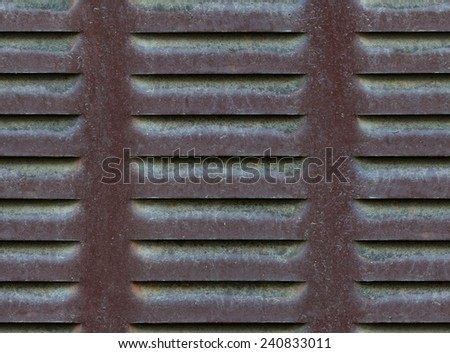 seamless metallic ventilation grille texture background