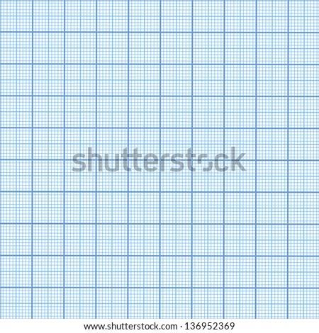 Seamless millimeter paper - stock photo