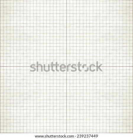 Seamless millimeter paper / XXL millimeter paper, graph paper, plotting paper. Graph grid scale paper. Shot square to image dimension. - stock photo