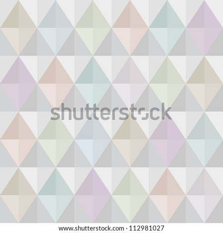 Seamless modern harlequin background in pastel colors