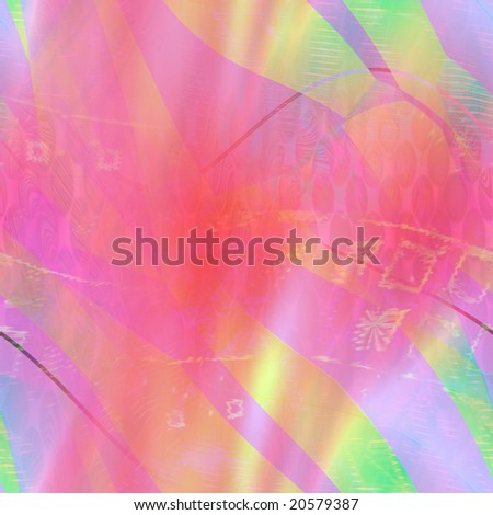 seamless multicolor abstract background - stock photo