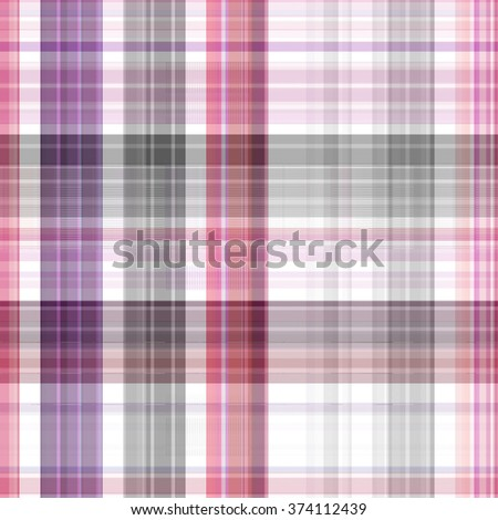 Seamless  multicolored background of plaid pattern