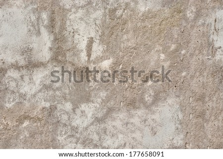 Seamless old wall plaster texture - stock photo