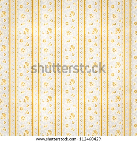 Seamless ornamental texture. Wallpaper floral decoration. - stock photo