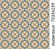 seamless overlapping geometry - stock photo