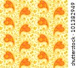 Seamless paisley pattern ( for vector EPS see image 101382952 )  - stock photo