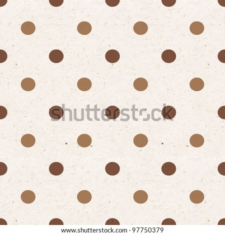 Seamless paper textured background - stock photo