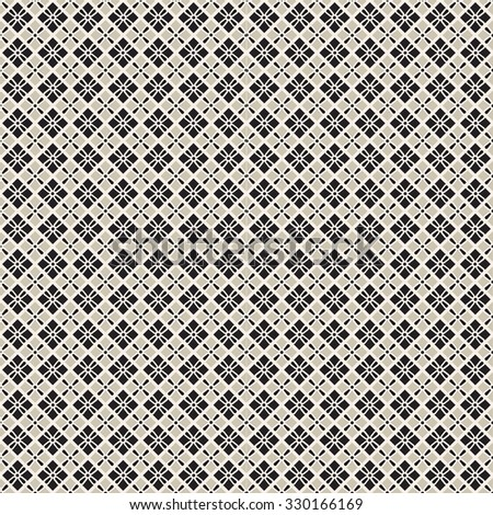 seamless pattern in beige cage. Raster version