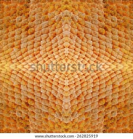 Seamless pattern Lizard skin texture background - stock photo