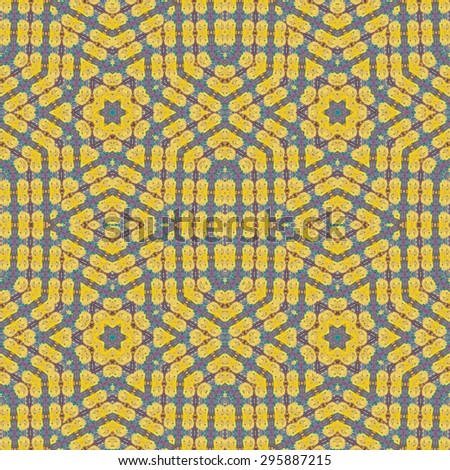 seamless pattern made from cracked rusty metal ,can be used for texture background - stock photo