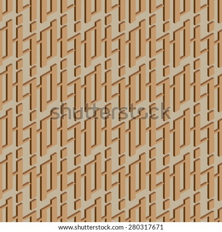 Seamless pattern. Modern stylish texture. Raster version - stock photo