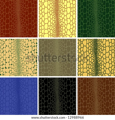 """Seamless pattern of crocodile leather skin to background texture. Vector version of this image (""""*.eps"""") also available in my portfolio. - stock photo"""