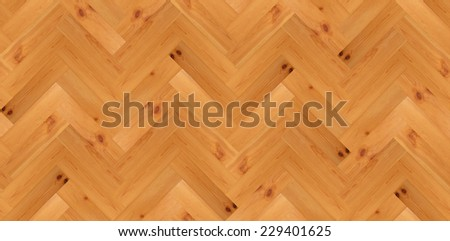 Seamless pattern of parquet floor - stock photo