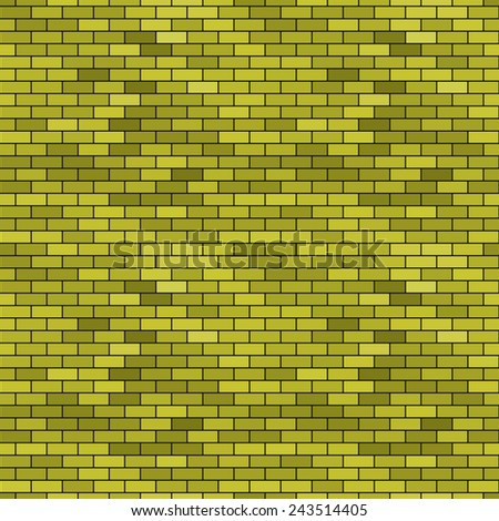 Seamless pattern of the abstract brick wall background  - stock photo