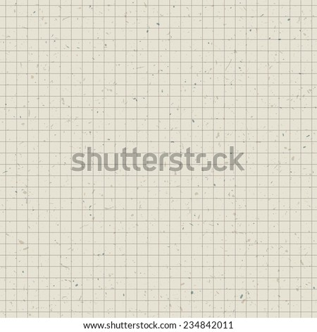 Seamless pattern. Paper of exercise book. Raster version - stock photo