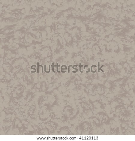Seamless pattern tile of low contrast putty splatters - stock photo