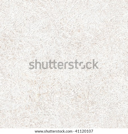 Seamless pattern tile of thinly sprayed white stucco - stock photo