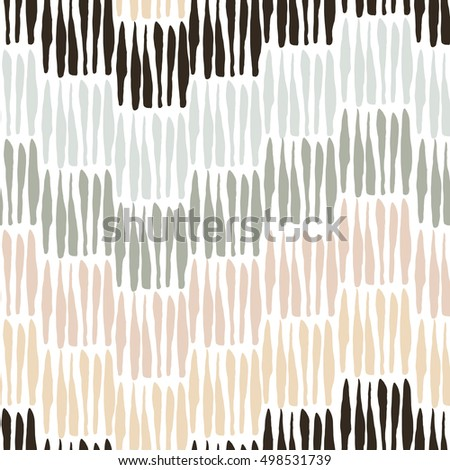 Seamless pattern with elements executed in ink. Lines, stripes. Texture for your design. Background. Hand drawn. Raster copy.