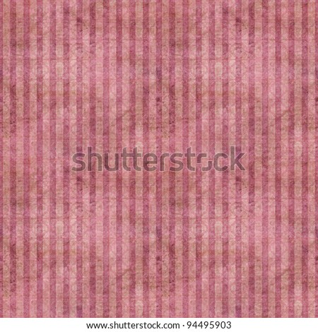 Seamless Pink Grungy Stripes Background Wallpaper - stock photo