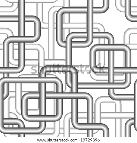 Seamless pipe pattern. Vector version is in my portfolio