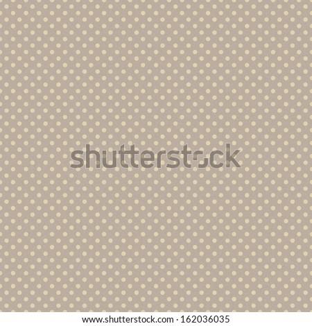Seamless Polka Dot Pattern - stock photo