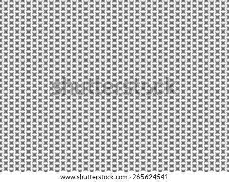 Seamless raster pattern from gray rectangle shape stars - stock photo