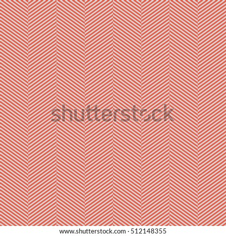 Seamless red and gray slim perfect op art herringbone pattern