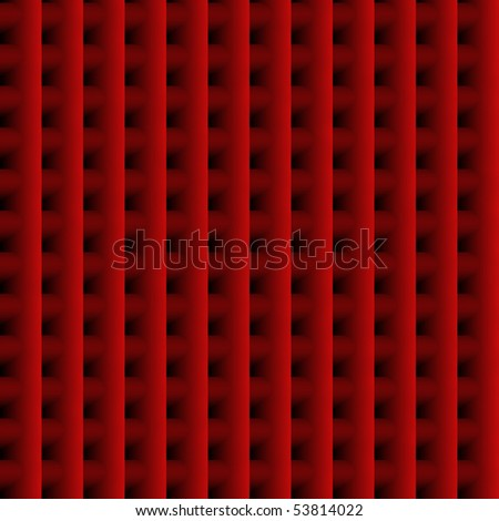 Seamless Red Grid