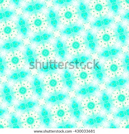 Seamless repeating colorful slanting kaleidoscopic pattern for ceramic tiles, textile and wallpapers