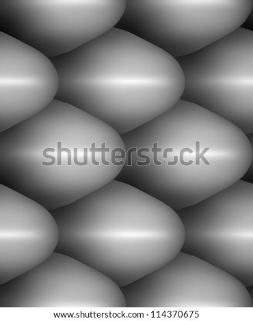 seamless repeating texture snake skin to extrude bump  tiling - stock photo