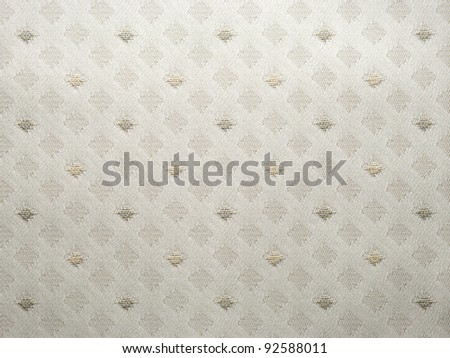 Seamless retro fabric background - stock photo