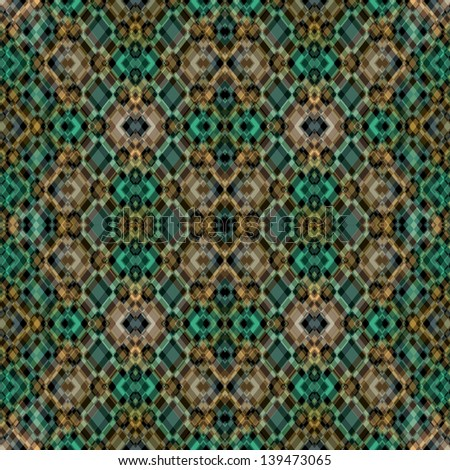 Seamless Retro Geometric Pattern/ Vintage background with classy patterns/ Abstract Ethnic Geometric Pattern/ Ethnic modern geometric seamless pattern ornament  - stock photo