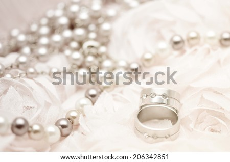 Seamless romantic background. Wedding