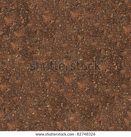 Seamless rust surface closeup background - texture pattern for continuous replicate. - stock photo