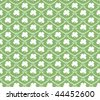 Seamless Saint Patrick's day clover background - stock vector