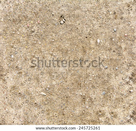 Seamless sand background. Sand texture. Sandy beach for background. Top view - stock photo