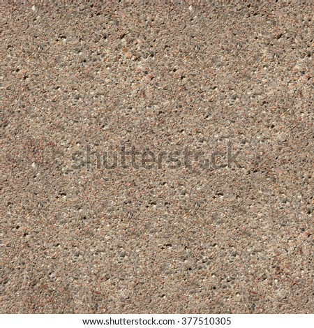 Seamless sand cement surface close up texture. - stock photo