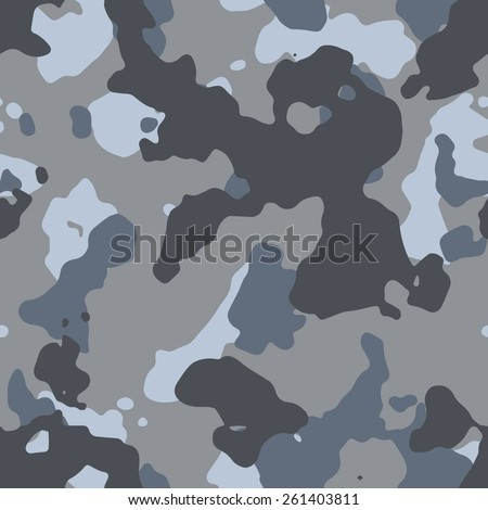 Seamless sandy camouflage pattern - stock photo